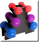 Dumbell Weights Set