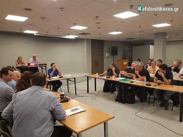 Νέα συνεδρίαση του Δημοτικού Συμβουλίου Κεφαλονιάς (28.11.2017)