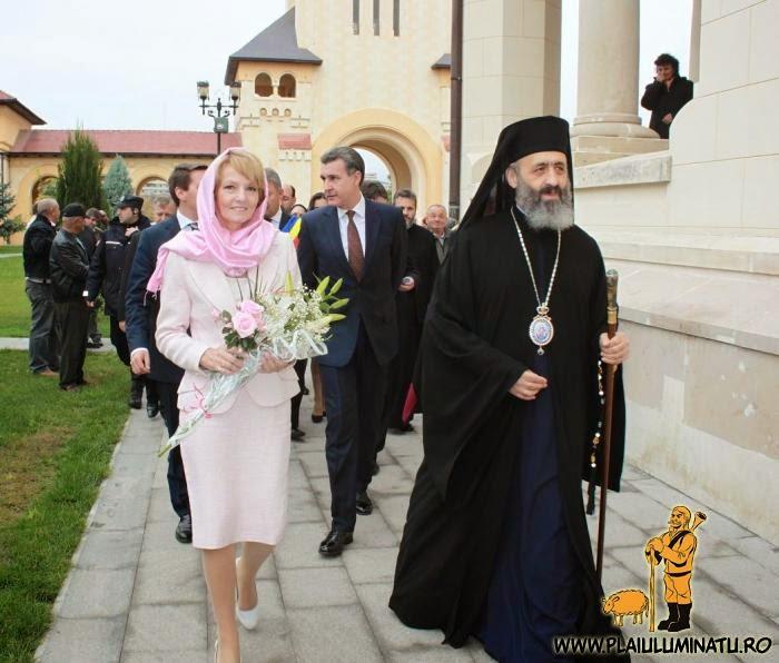 Principesa Margareta la Catedrala Reîntregirii din Alba Iulia