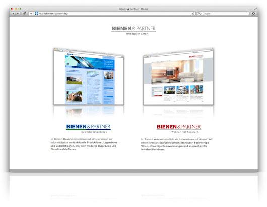 Bienen Partner eyelikeit visual solutions webdesign düsseldorf