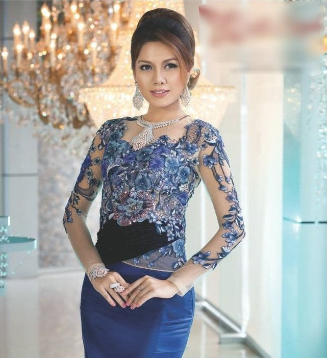 latest myanmar fashion dress 2016 fashionte