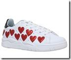 Chiara Ferragni heart detail trainers