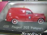 4551 Peugeot 203 Pompiers 1954