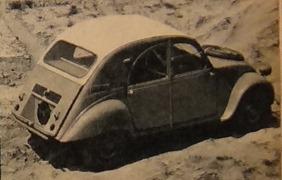 Citroen 1960 2 CV Sahara