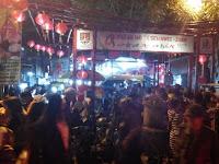 Meriahnya Pasar Imlek Semawis Semarang