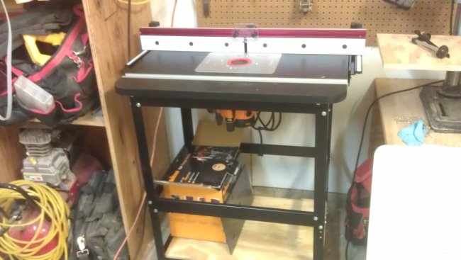 The New Router Table