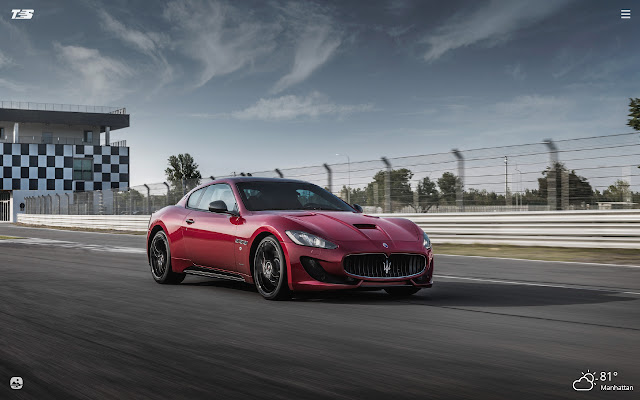 Maserati GranTurismo HD Wallpapers New Tab