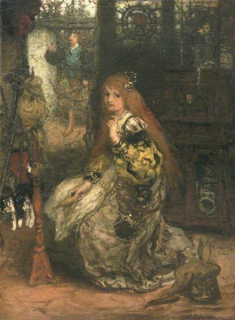 Matthijs Maris - He is coming (hij komt), 1874