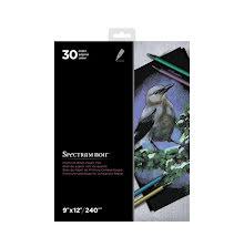 Spectrum Noir 9x12 Premium Paper Pad - Black