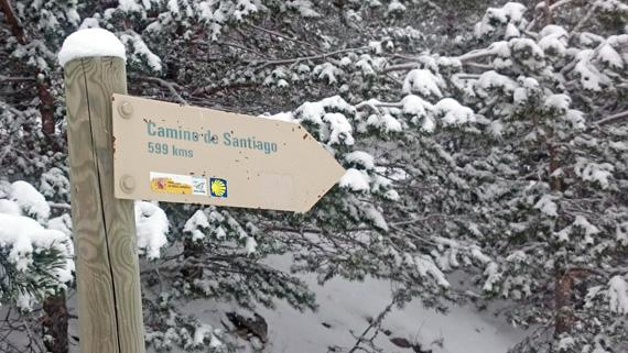 Ruta de Colmenar Viejo a Cercedilla por el Camino de Santiago... ¿con nieve?