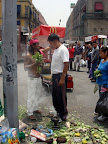 The fast food version of Tribal Medicine! (Zocalo in Mexico City)