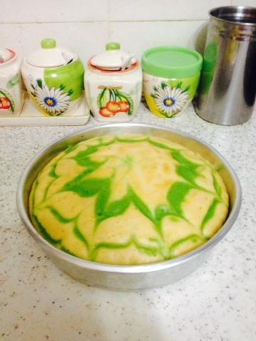 gambar kek minyak gebu dan sedap