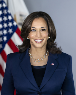 """""""Today, we honor those who gave their lives in service to their nation"""", Kamala Harris"""