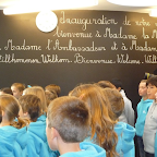 Inauguration école maternelle du Lycée Français