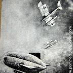 Karl Meyer and Erich Kästner  attacking British airship C 17 on 21.04.1917