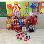 Playgroup Section Celebrated Clown Day, Witty World (2015-16)