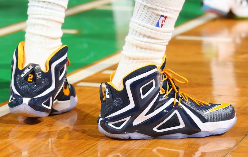 LeBron James Nike 12 Elite Navy blue-tinted Pictures 03-4-24-2015