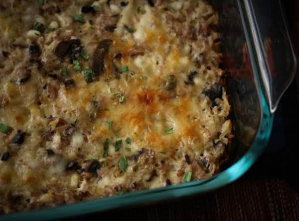 Minnesota Nice Wild Rice Casserole Recipe