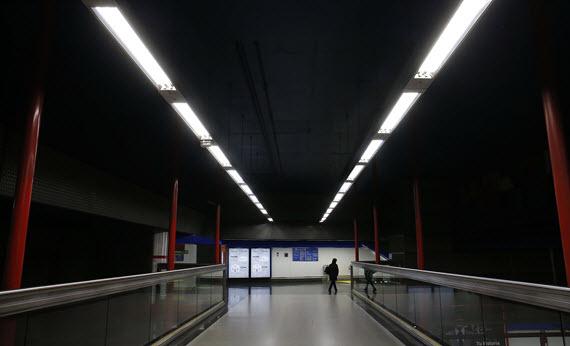 El 25% de las estaciones Metro cuentan ya con iluminación LED