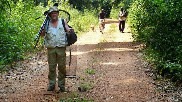 Henrik Bloch. Bobiri Forest (Ghana), 2 décembre 2013. Photo : J.-F. Christensen
