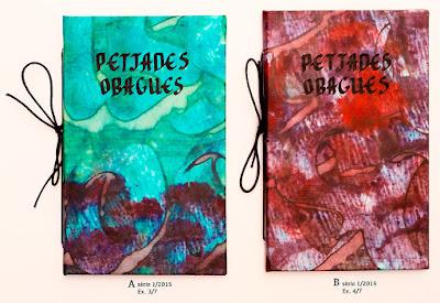 poemari manuscrit Petjades obagues