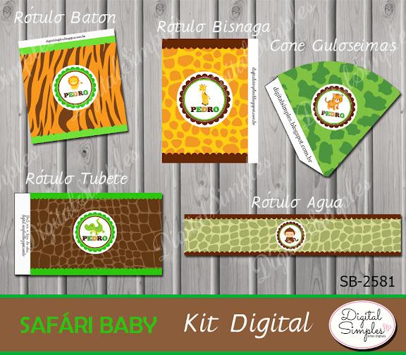 Kit Digital Safári .....artesdigitalsimples@gmail.com