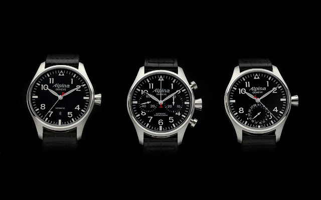 New Alpina Startimer Pilot Collection