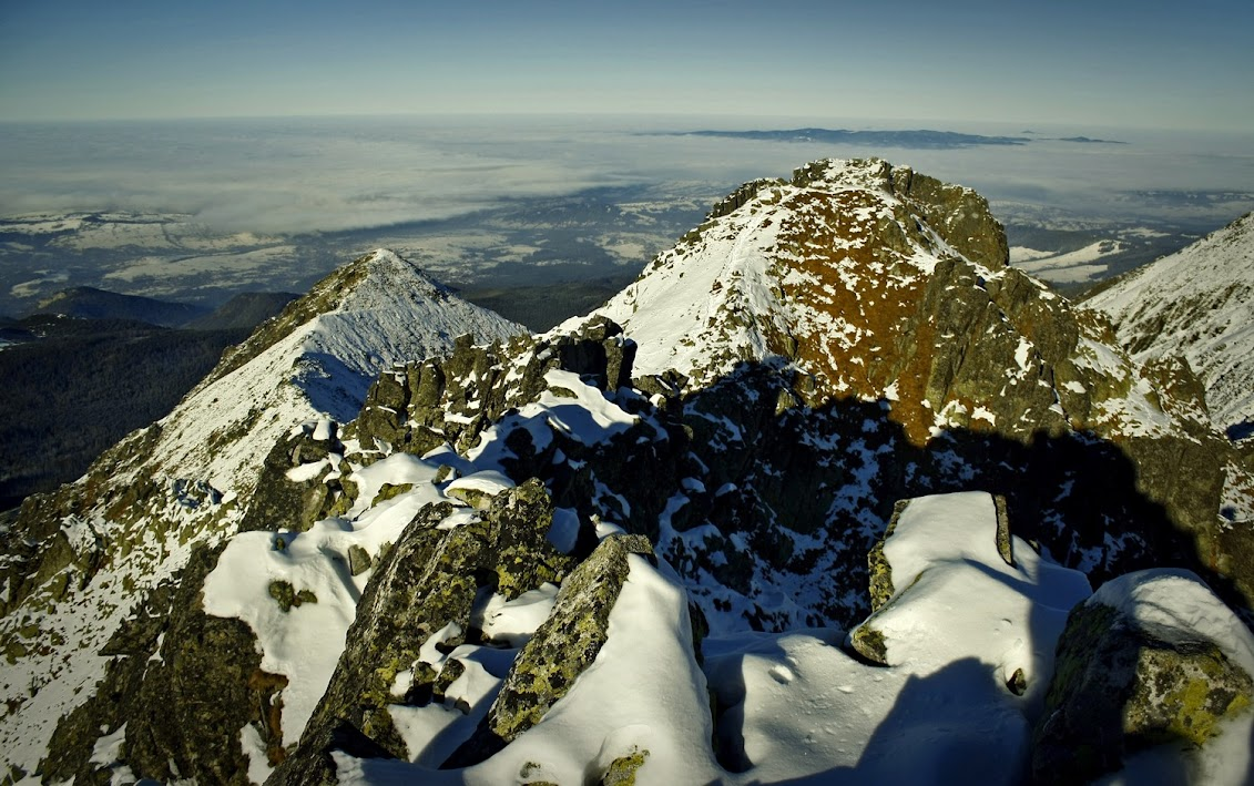 Zadni Granat zimą