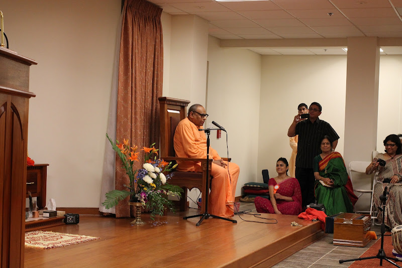 Day 1 Benedictory address by Swami Tathagatananda