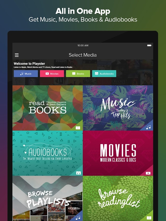 Audiobooks, Books & Music- screenshot