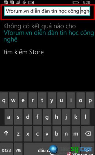 Hướng dẫn gõ Tiếng Việt cho Windows Phone + Hình 7