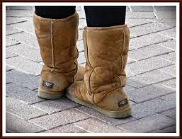 The shorter UGGs are way more stylish too.