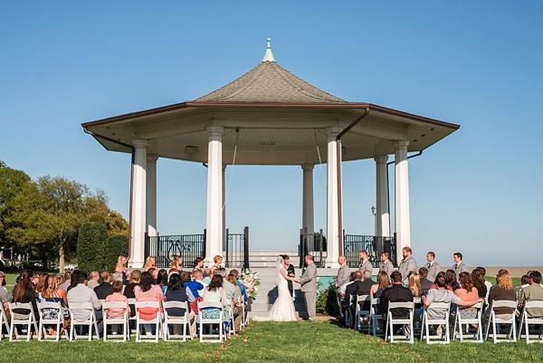 Fort Monroe Beach Wedding