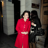 WWW.ENTSIMAGES.COM -  Anna Friel leaving Uncle Vanya Vaudiville Theatre Strand London January 7th 2013                                                       Photo Mobis Photos/OIC 0203 174 1069