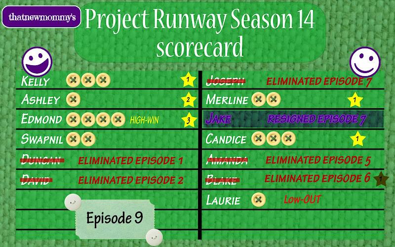 Fantasy Project Runway Season 14 Scorecard - Make It Sell (14x09)