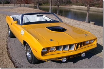 Plymouth Barracuda Nash Bridges