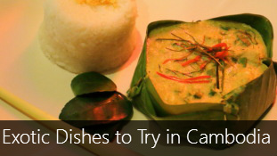 5 Exotic Dishes to Try in Cambodia