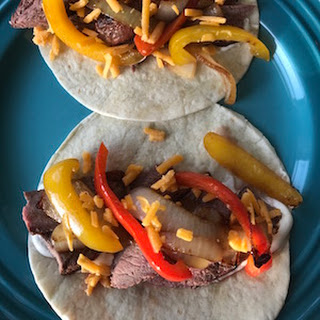 Steak Fajitas.