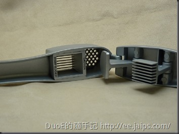 鋁合金兩用金屬壓蒜器-壓蒜槽1