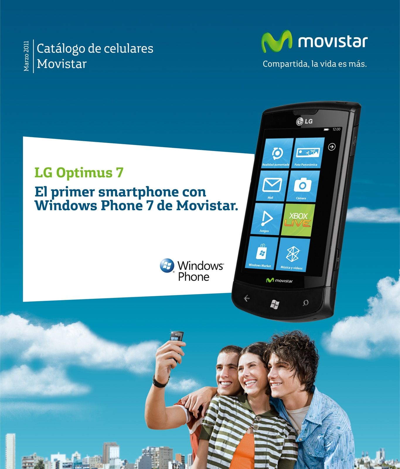 Movistar Perú: Catálogo Movistar Marzo 2011