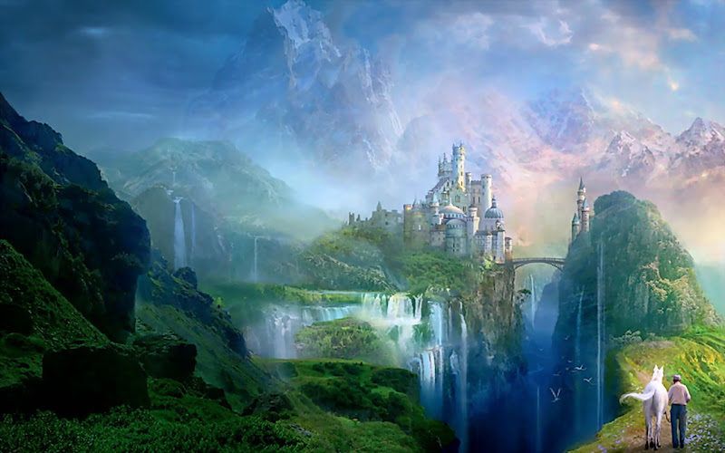 White Castle Of Green Valley, Magical Landscapes 2