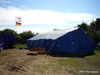 Die Unterkunft der Ahrensburger