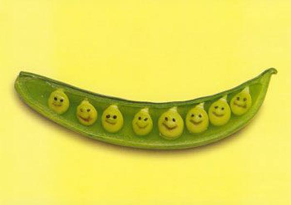 Food Art - Green Pea Kids