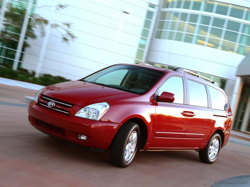 2009 kia sedona minivan specifications pictures prices. Black Bedroom Furniture Sets. Home Design Ideas