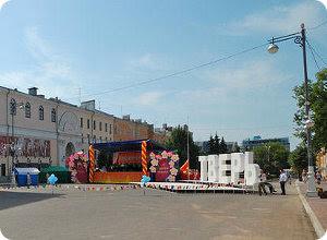 На День города в Твери запланирована насыщенная культурно-массовая программа