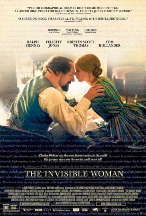 Poster Of English Movie The Invisible Woman (2013) Free Download Full New Hollywood Movie Watch Online At Alldownloads4u.Com