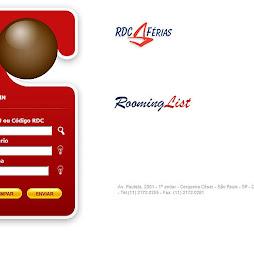 Projeto: Portal RDC Rooming List