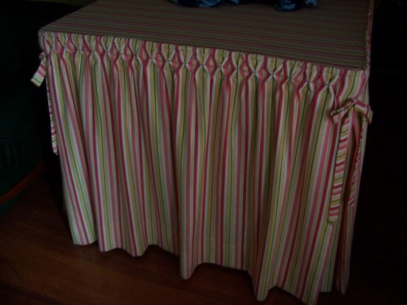 Falda para mesa camilla rectangular perfect falda mesa - Ropa de mesa camilla ...