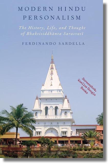 Sardella: Modern Hindu Personalism