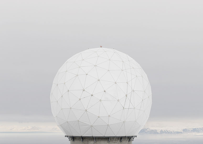 KSAT Svalbard Ground Station by Greg White
